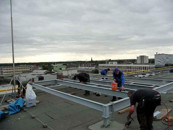 Ref-Dachkonstruktion